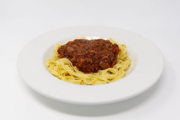 Fin & Fern pasta with bolognese