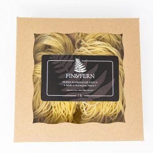 fresh spaghetti noodles